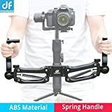 DIGITALFOTO DH04 Z Axis Flexiable Damping Spring Dual Handle Grip Bracket Holder Arm Compatible for ZHIYUN Crane 2/Plus/V2 MOZA FEIYU DJI Ronin S 3 Axis Gimbal