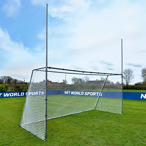 Net World Sports Forza Steel42 Football/Soccer Combination Goal Posts - Super Strong Steel Goals for The Backyard (15ft x 7ft)
