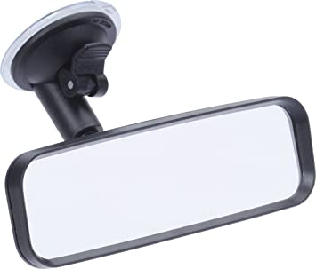 10410701 Designed in Germany | Adjustable | High quality glass hr-imotion Rear View Mirror with Suction Mount