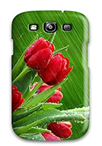 New MPkoEBh8465pKaNn April Showers Skin Case Cover Shatterproof Case For Galaxy S3