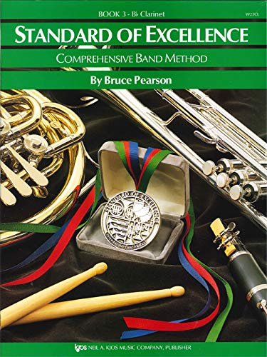 W23CL - Standard of Excellence Book 3 - Clarinet