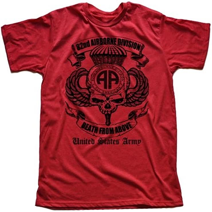 US Army 82nd Airborne Division Green T-shirt By Warface Apparel Inc