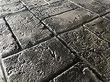 Worn Brick Basketweave Concrete Stamp Single by
