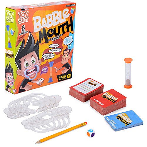 Babble Mouth Party Game Speak Shout Out Talking Mouthpiece Challenge Toy Star For Ages 7+ Xmas Gift by Toy Star