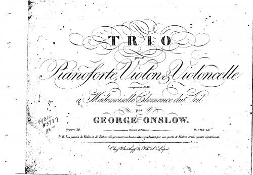 Piano Trio No.7, Op.20 - ScorePiano pdf epub