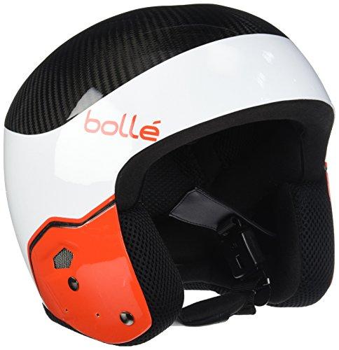 - Bolle Medalist Carbon Pro Helmet, White/Red, 53-56cm