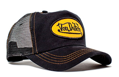 von-dutch-originals-unisex-adult-trucker-hat-one-size-black-twill-gold-patch