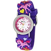 Ravel Children's 3D Pink Pony Time Teacher Watch