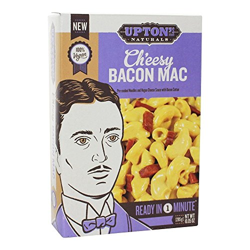 Uptons Naturals, Entree Mac Cheesy Bacon, 10.05 Ounce