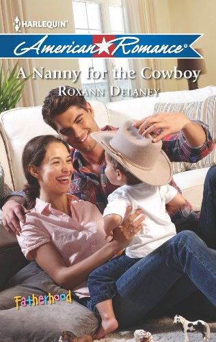 book cover of A Nanny for the Cowboy