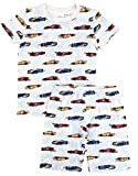 Esme Boys Pajamas Short Sleeve Top Shorts Set 8 Race Car