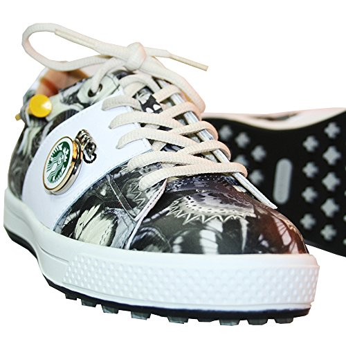 KARAKARA Spike-less Golf Shoes, KR-403, Black, 245 mm, for Women