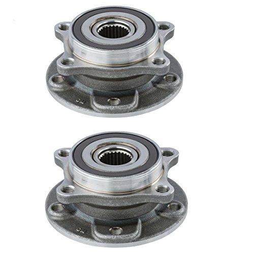 Detroit Axle - New Set (2) Front Driver & Passenger Wheel Hubs and Bearings for 2013 2014 2015 2016 Dodge Dart and 2015 2016 Chrysler - Dart Set Dodge