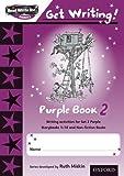 READ WRITE INC PHONICS:GET WRITING PURPLE 2 PACK OF 10 NEW EDITION