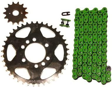 Primary Drive Steel Sprocket Kit Set And O Ring Chain KAWASAKI KFX400 2003-2006