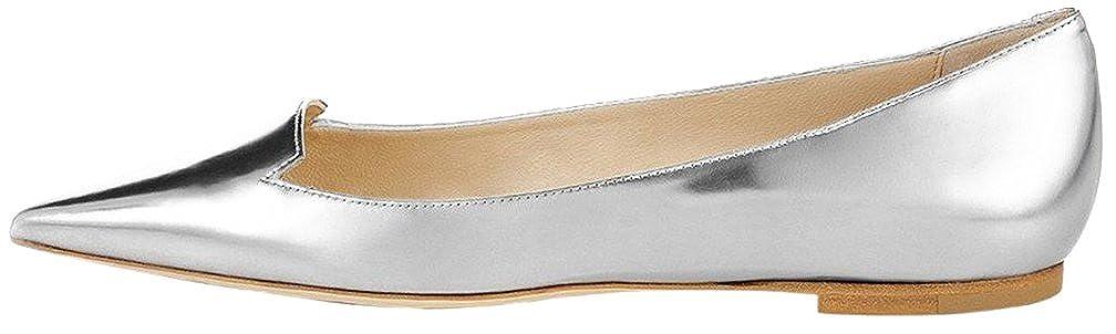 Calaier Cacow Damen Ballerinas silber - silber - Größe    EU 38 2cbcc5