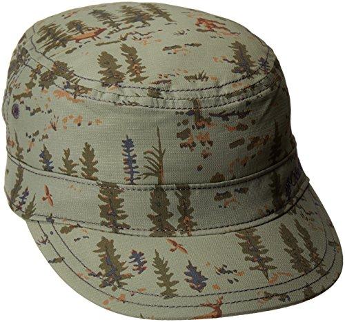 Columbia Youth Silver Ridge Patrol Cap, Cypress Print, - Hut Copy