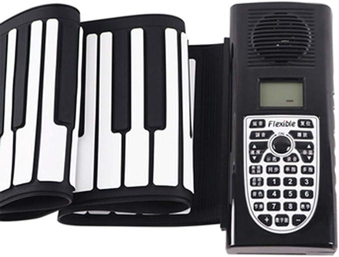 Pianos y teclados Enrollado A Mano 61 Teclas Portátil Teclado ...