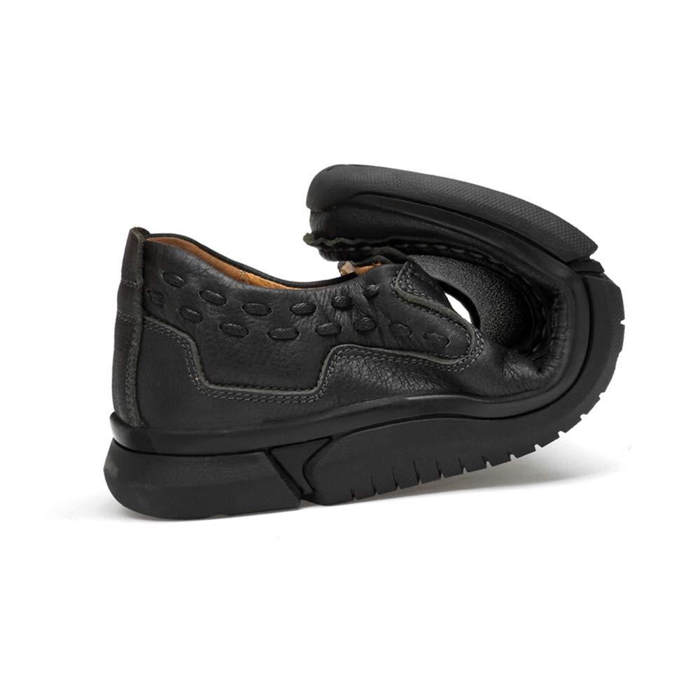 XHD-Schuhe Freizeitschuhe Herrenmode Business Oxford Casual Wohlhabender weicher weicher weicher Leichter Slip On Schematische Schuhe 8fadb0