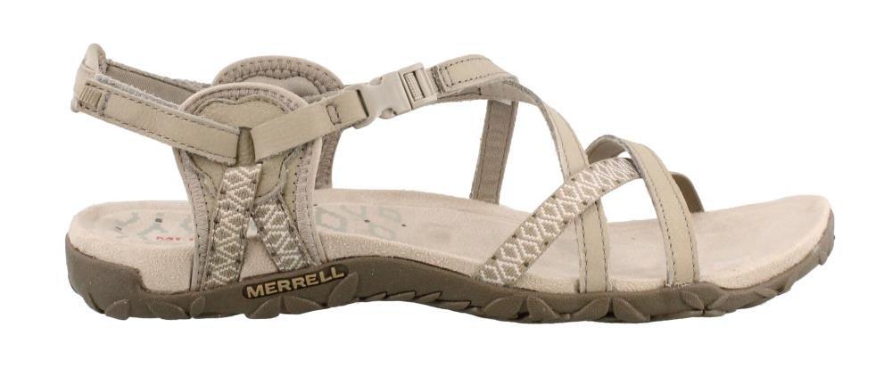 Merrell Women's Terran Lattice II Sandal, Taupe, 10 M US