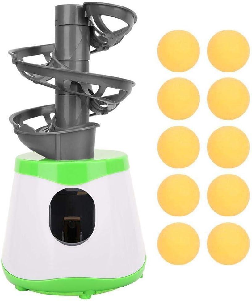 Vbest life Entrenador de Tenis de Mesa, Pelota de Ping Pong Lanzador automático Máquina de Entrenamiento Juguete de Entretenimiento para niños para Amante del Principiante de Ping Pong