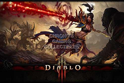 Diablo CGC Huge Poster Glossy Finish III PS3 PS4 Xbox 360 ONE - Class Wizard - DIA017 (24