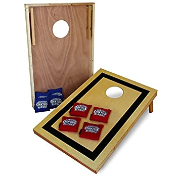 Image of Driveway Games Traditional Set Wood Corn Toss Boards