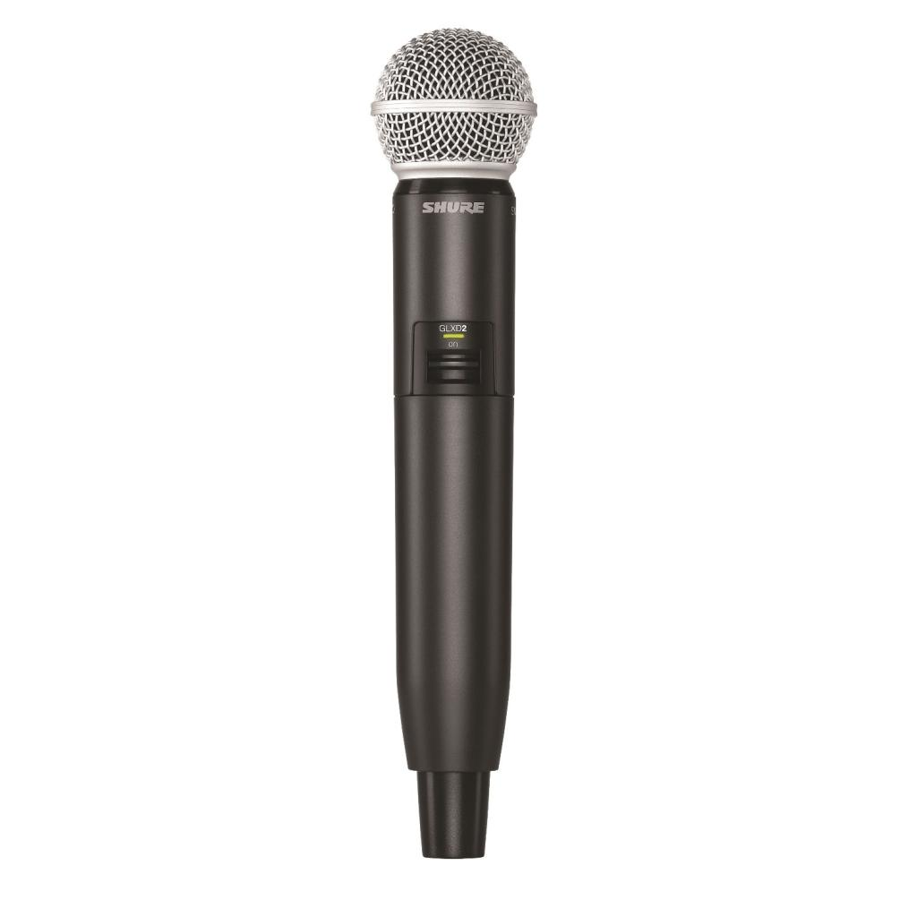 shure glxd24 sm58 digital vocal wireless system with sm58 handheld microphone z2. Black Bedroom Furniture Sets. Home Design Ideas