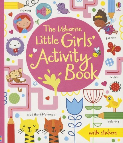 Download The Usborne Little Girls' Activity Book ebook