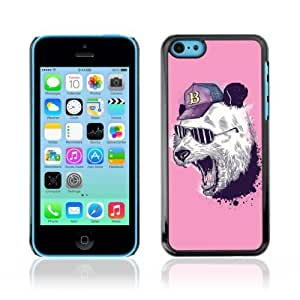 linJUN FENGDesigner Depo Hard Protection Case for Apple ipod touch 5 / Cool Panda