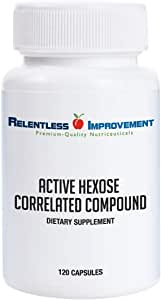 Relentless Improvement Active Hexose Correlated Compound Compare to AHCC Brand