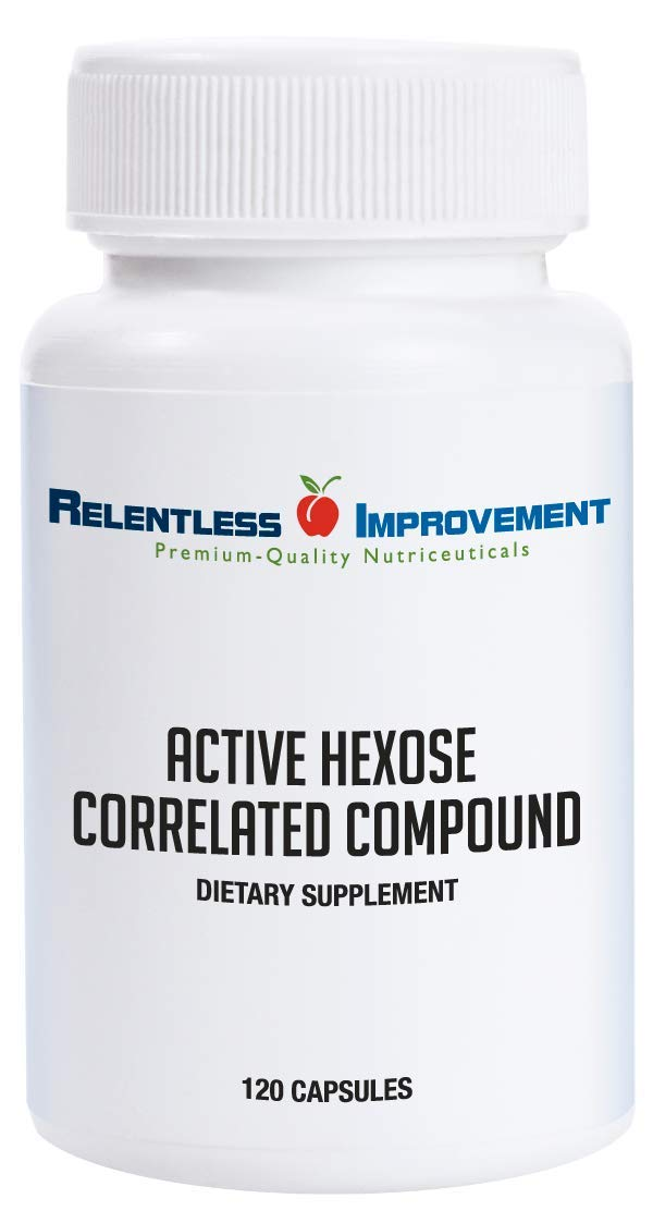 Relentless Improvement Active Hexose Correlated Compound Natural Immune Support