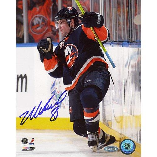 - Steiner Sports NHL New York Islanders Mike Comrie Fist Pump 16 x 20-inch Photo