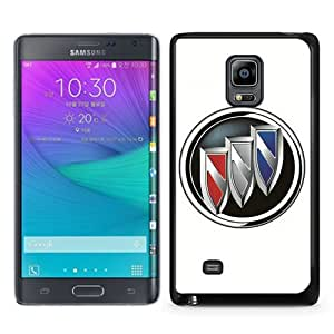 Popular Samsung Galaxy Note Edge Cover Case ,Buick logo Black Samsung Galaxy Note Edge Case Hot Sale And Unique Designed Phone Case