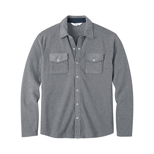 Mountain Khakis Men's Pop Top Shirt, Gunmetal, XX-Large
