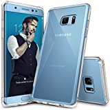 Galaxy Note 7 Case, Ringke [FUSION] Crystal Clear PC Back TPU Bumper [Drop Protection/Shock Absorption Technology] Raised Bezels Protective Cover For Samsung Galaxy Note 7 2016 - Clear