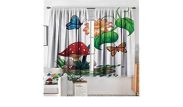 All of Better Mushroom Cortina impermeable para ventana, diseño de ...
