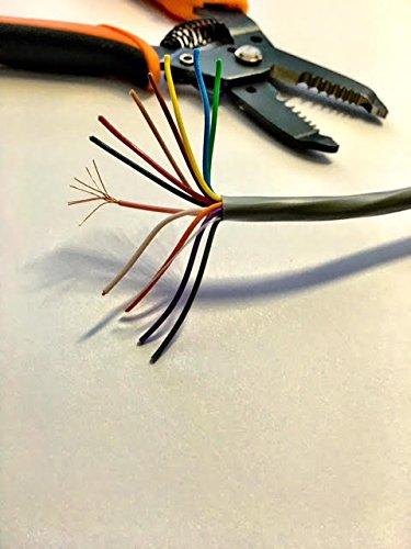 22AWG 12C 12 Conductors Security Alarm Cable Intercom Sound Audio ...