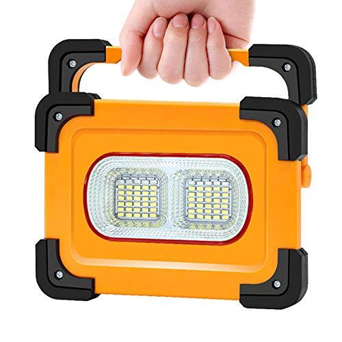 WOERD Led Baustrahler Akku, Arbeitsleuchte Bauscheinwerfer, 4 Lichtmodi mit Powerbank-Funktion Tragbares Strahler 180…
