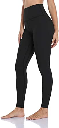 HeyNuts Formerly Hawthorn Athletic Essential II Women's Full Length Yoga Leggings, High Waisted Workout Pants 28''