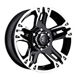 17X8 5-5.5 Ultra 235B Maverick Gloss Black Wheels