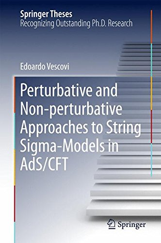 Perturbative and Non-perturbative Approaches to String Sigma-Models in AdS/CFT (Springer Theses)