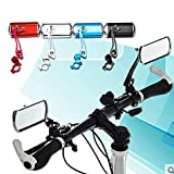 Best Bicycle Mirrors - Bicycle Handlebar Rear View Mirror Bike Aluminum Alloy Review