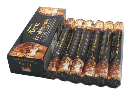 Frankincense & Myrrh - 120 Sticks Box - Darshan Incense