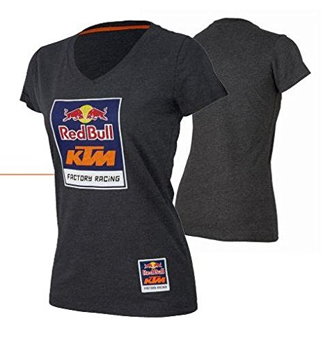 Red Bull KTM Racing Womens Logo V-neck Tee L