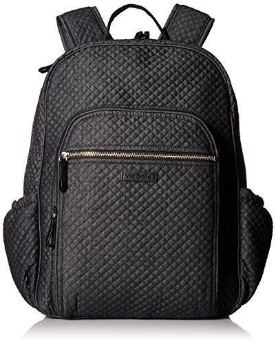 Vera Bradley Women's Iconic Campus Backpack, denim navy