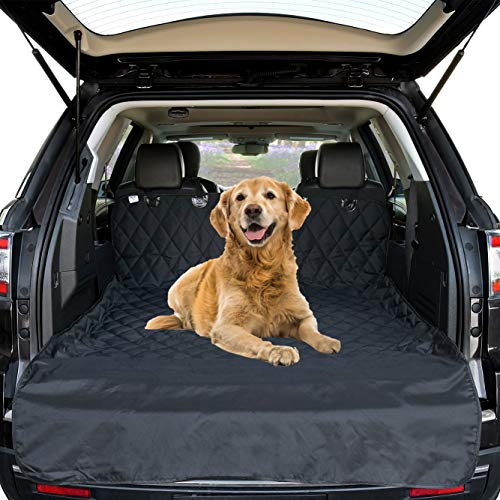 Dog Cargo Liner Cover, Car Boot Liners Ford Focus Dog Car Seat Covers Back Large Durable Nonslip Scratch Proof Washable Pet Back Seat Cover Boot Liner, Dog Travel Hammock for All Cars
