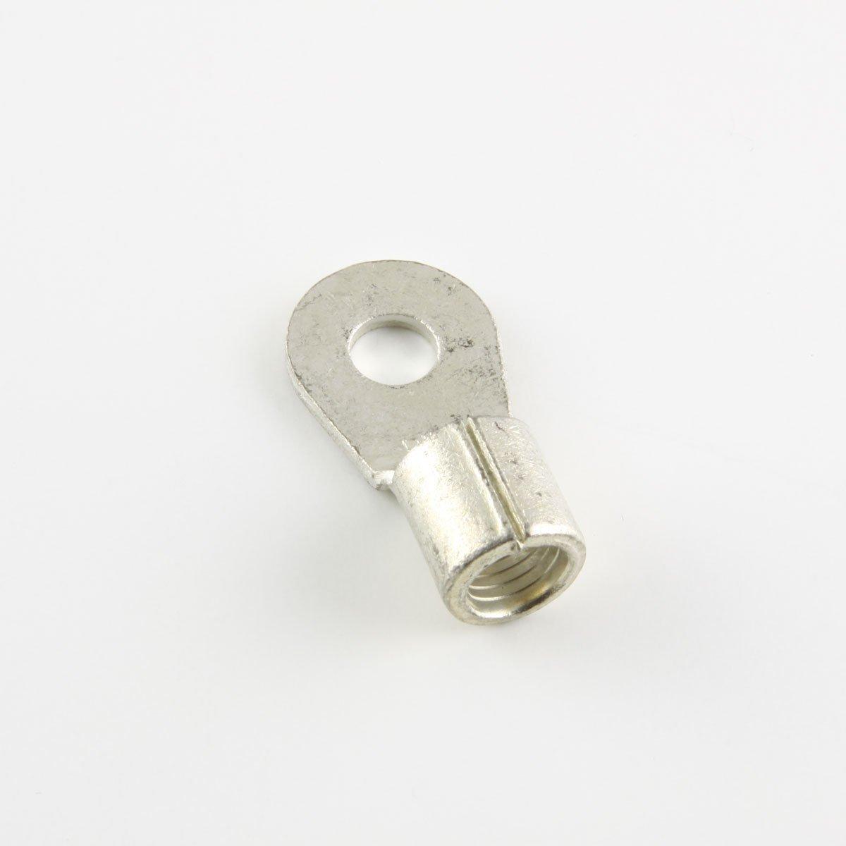 4 Ga. Ring Terminals, 1/4'' Stud - (pack of 10)