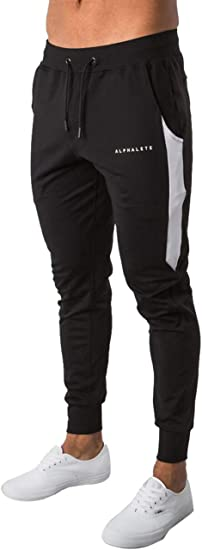 Diliflyer Mens Sweatpants Joggers Gym Track Trail Pants
