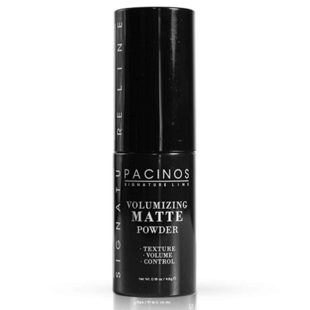 Pacinos Matte Texturizing Hair Powder - Volumizing Powder Adds Texture, Volume, Control & Absorbs Excess Oil for a Natural Finish - Styling Texture Powder for All Hair Types: Beauty
